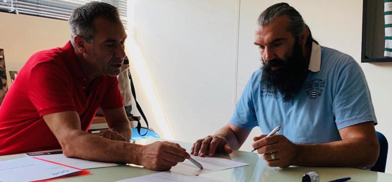Sébastien Chabal fait confiance à SGR Services aux Angles